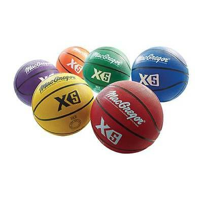 MacGregor® Multicolor Basketball Intermediate Size (28.5