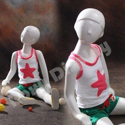 Child Fiberglass Abstract Mannequin Dress Form Display Mz-tom5