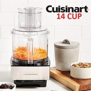 NEW* CUISINART FOOD PROCESSOR DFP-14BCNY 221042598 14 CUP BRUSHED STEEL 720W