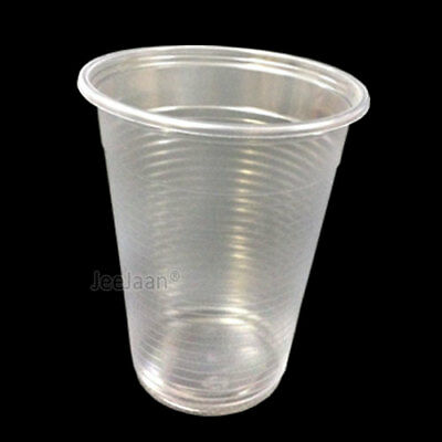 Yard Plastic Drinking Glass (1000 Plastic Disposable Cups Water 7oz Clear Drinking Glass Party)
