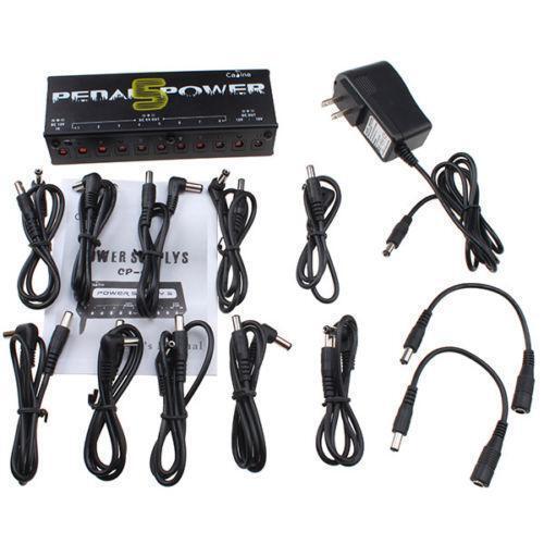 guitar pedal power supply ebay. Black Bedroom Furniture Sets. Home Design Ideas