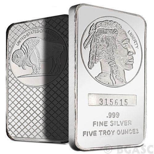 Silver Ingot Bar Ebay