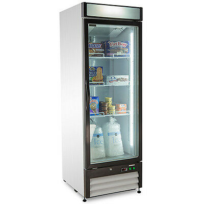 Commercial Glass Door Freezer
