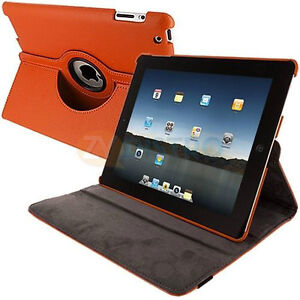 Orange PU Leather 360 Rotating Case Cover for Ipad Mini 1 2 3 Regina Regina Area image 2