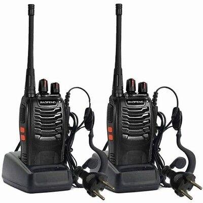 2 x Baofeng BF-888s 400-470 MHz UHF Amateurfunk Handfunkgerät Walkie-Talkie
