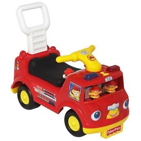 £10 Fisher price fire truck