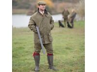 ALAN PAINE TWEED SHOOTING JACKET,NEW WITH TAGS ON.