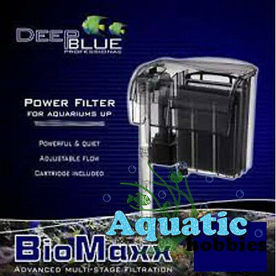 Deep Blue Bio Maxx Power Filter Nano Advanced Multi Stage Filtration