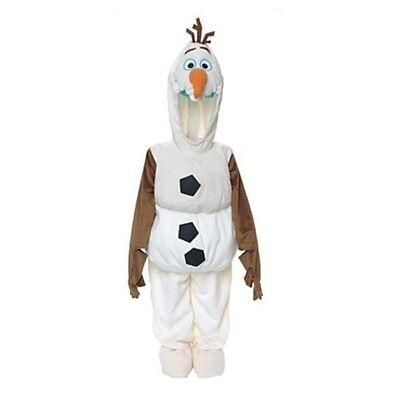 Disney Olaf Snow Man SnowMan Frozen Dress up Costume for Kids 2-3 Years New
