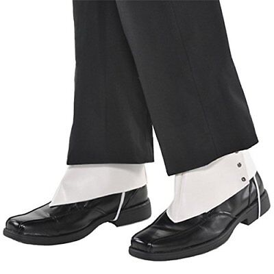 Amscan '20s Costume Party White Gangster Spats - Adult](20s Gangster Costumes)