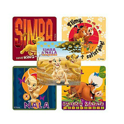 20 Lion King STICKERS Party Favors Supplies for Birthday Treat Loot -