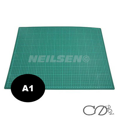 A1 CUTTING MAT BOARD DOUBLE SIDED SELF HEALING NON SLIP PRINTED GRID LINES