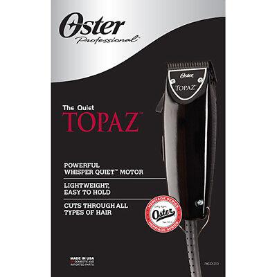 ऑस्टर प्रोफेशनल पुखराज (ब्लैक फास्ट फीड) नाई के बाल क्लिपर 76023-310