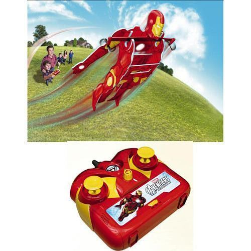 MARVEL IRON MAN EXTREME HERO REMOTE CONTROL FLYING TOY- NEW IN BOX