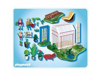 **REDUCED** Play Mobil Conservatory and Swing Set 4281
