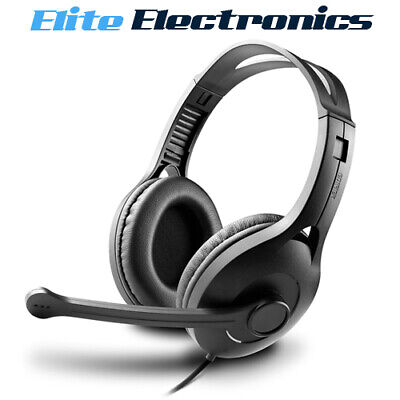 Edifier K800 USB Headset Noise Cancelling Gaming Office Leather Padded