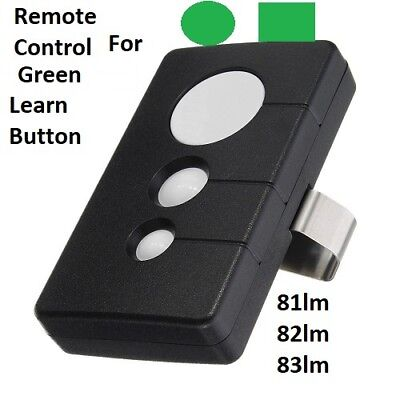 Craftsman Garage Door Opener Visor Remote Control 139.53879 K1026HBW1136