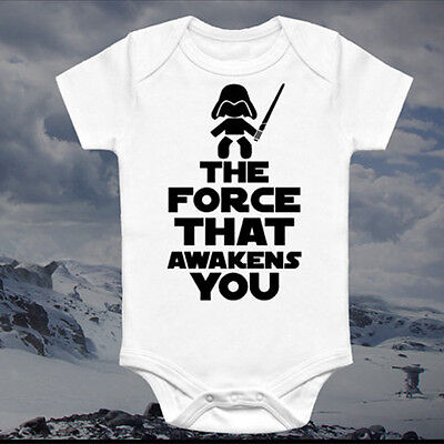 Star Wars Newborn Kids Baby Boy Romper Bodysuit Sunsuit Clothes Outfit Summer