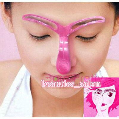 Easy Eyebrow Makeup Template Fast Drawing Eyebrow Makeup Cosmetic Tool