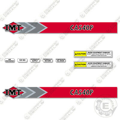 Imt Cas40p Decal Kit Commercial Compressor Replacement Sticker Set