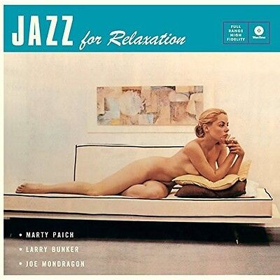 Marty Paich   Jazz For Relaxation   4 Bonus Tracks  New Vinyl  Bonus Tracks  180