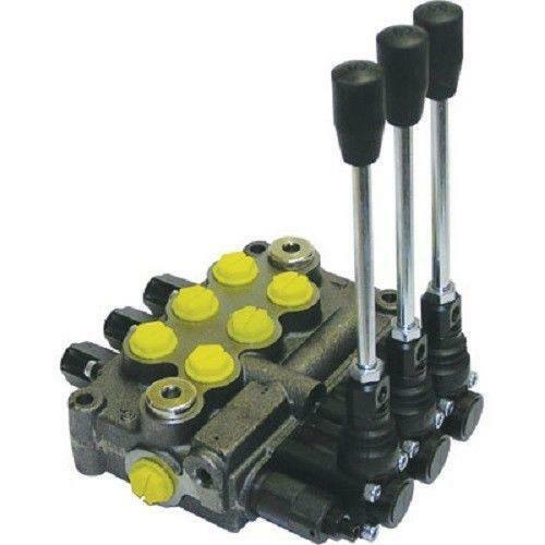 3 spool hydraulic valve martlocal for Hydraulic motor spool valve
