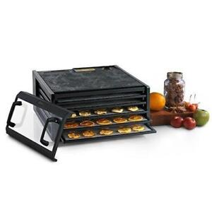 Excalibur Digital Food Dehydrator 3548CDB with Clear Door