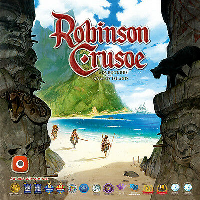 ROBINSON CRUSOE ADVENTURES ON THE CURSED ISLAND 2ND EDITION BOARD GAME NEW