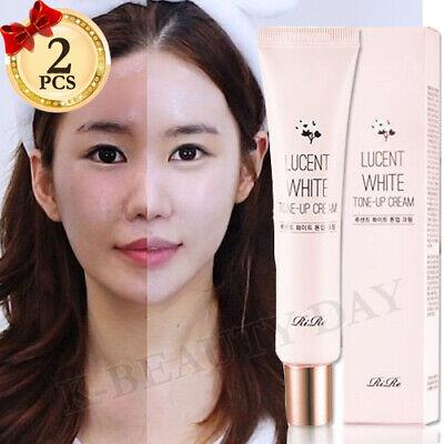 KOREA BRIGHTENING CREAM Lucent White Tone-up Cream 40ml+40ml Cream Made in korea