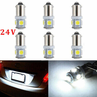Wholesale 10 X BA9S 1895 57 T4W 182 5 5050 SMD LED White Car Lights Lamp Bulb