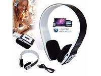 Bluetooth Wireless Stereo Headphones With Call Mic