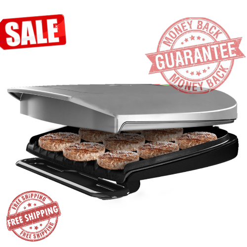 144-Square in 9 Serving Nonstick Cooking Surface, Classic-Pl