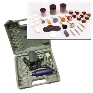 165PC-MINI-ROTARY-HOBBY-DRILL-KIT-PLUS-SANDING-GRINDING-BUFFING-POLISHING-BITS