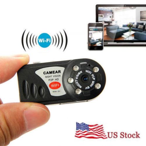 WIFI Wireless IP MINI IR small IR Camera spy nanny Security Night Vision camera