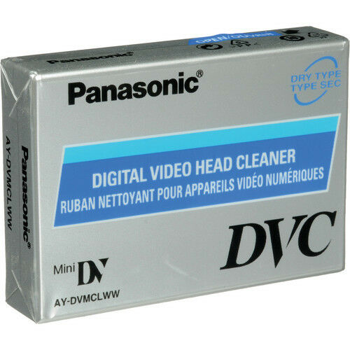 Panasonic AY-DVMCLWW Cleaning Tape for Mini DV DVC Camcorder