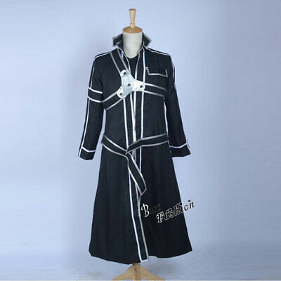 Kirigay Cosplay Costume Jacket Kirito Kazuto With Inner Coat Sword art online