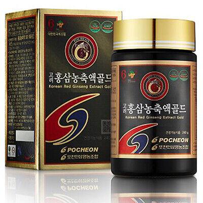 [Express] Pocheon Korean Red Ginseng Extract Gold 240g Ginsenoside 10mg/g