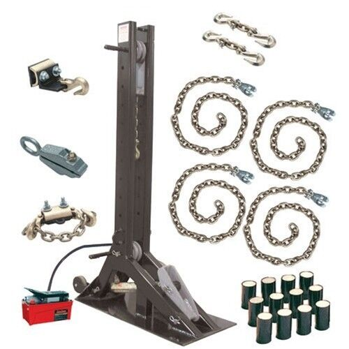 Champ 4021 Olympian 10-Ton Pulling Post Starter Kit with 4007 Post
