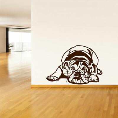 Wall Vinyl Sticker Bedroom Design Dog Hound Pooch (Z514)