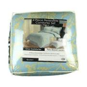 Blue Queen Bed Set