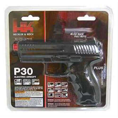 H&K P30 by Umarex 6mm Electric AEG Airsoft, Black