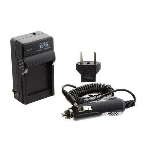 Premium Tech EN-EL19 PT-68 Rapid Battery Charger for Nikon S3100 S4100 Camera