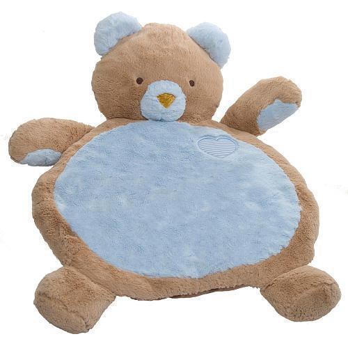 NWT Mary Meyer Bestever Baby Mat Plush Blue Bear