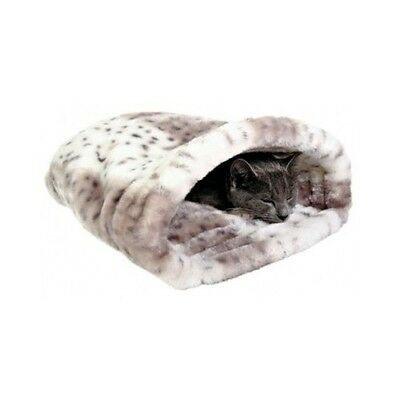 Soft Cat Bed Sleeping Bag Igloo Pet Kitten Beds Plush Cosy Puppy Warm Cuddle NEW