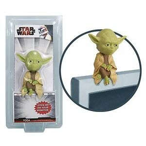 NEW-Star-Wars-YODA-Computer-Sitter-Bobblehead-Wacky-Wobbler-Bobble-Head