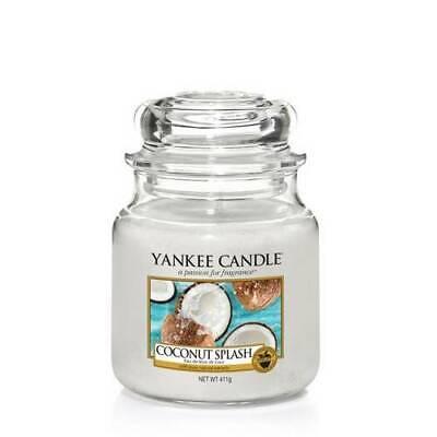 "YANKEE CANDLE - GIARA MEDIA ""COCONUT SPLASH"" DUR. MAX. 65/75 H - 1577811E"