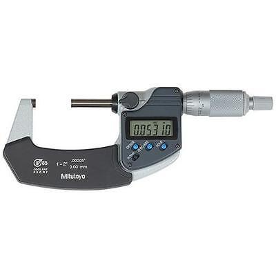 Mitutoyo 293-341-30 Digimatic Ratchet Stop Micrometer 1-225-50mm Range .0000