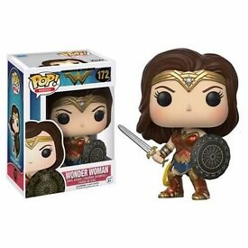 Wonder Woman Movie Funko Pop Vinyl Figures