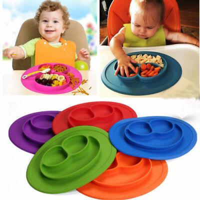 Smile Baby Kinder Silikon Tischset Teller Schüssel Nahrung Ablage Tischmatte DE ()