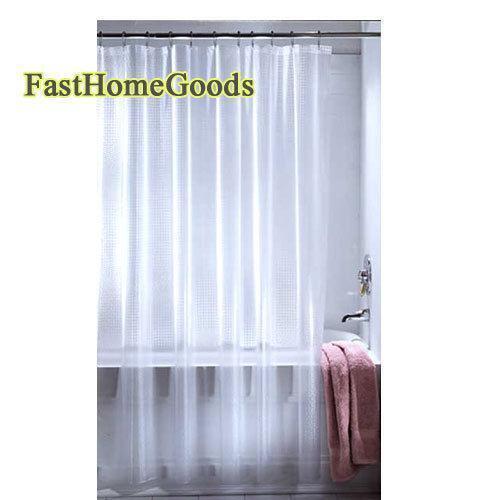 Transparent Shower Curtain | eBay